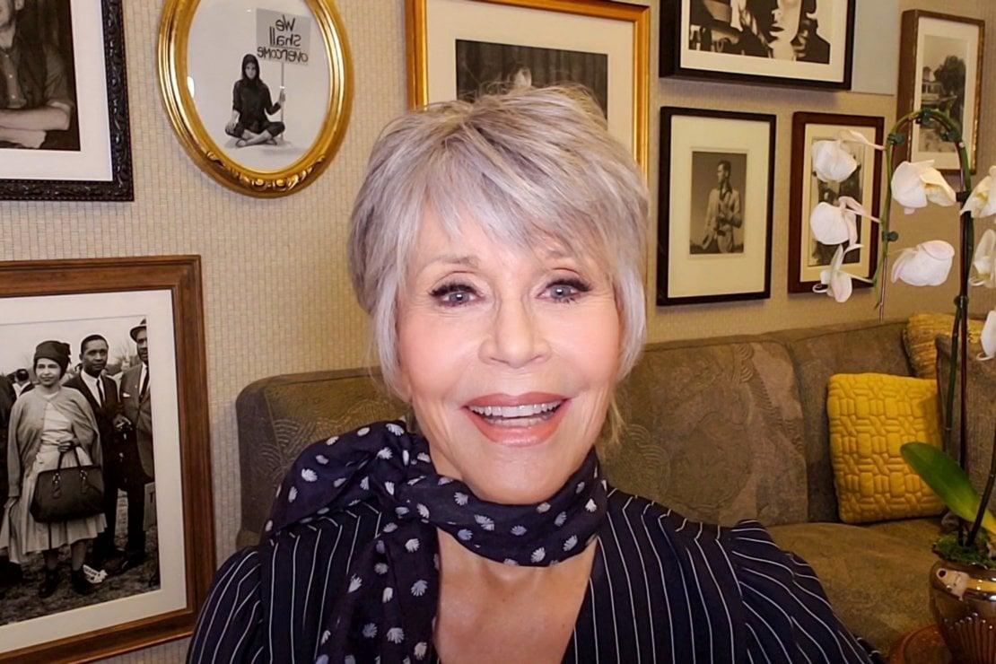 Jane Fonda e il sesso: A 82 anni non lo faccio più, ne ho fatto talmente tanto