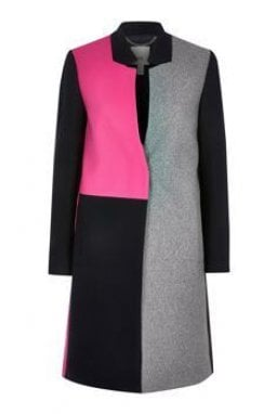 Il cappotto block coat di River Island