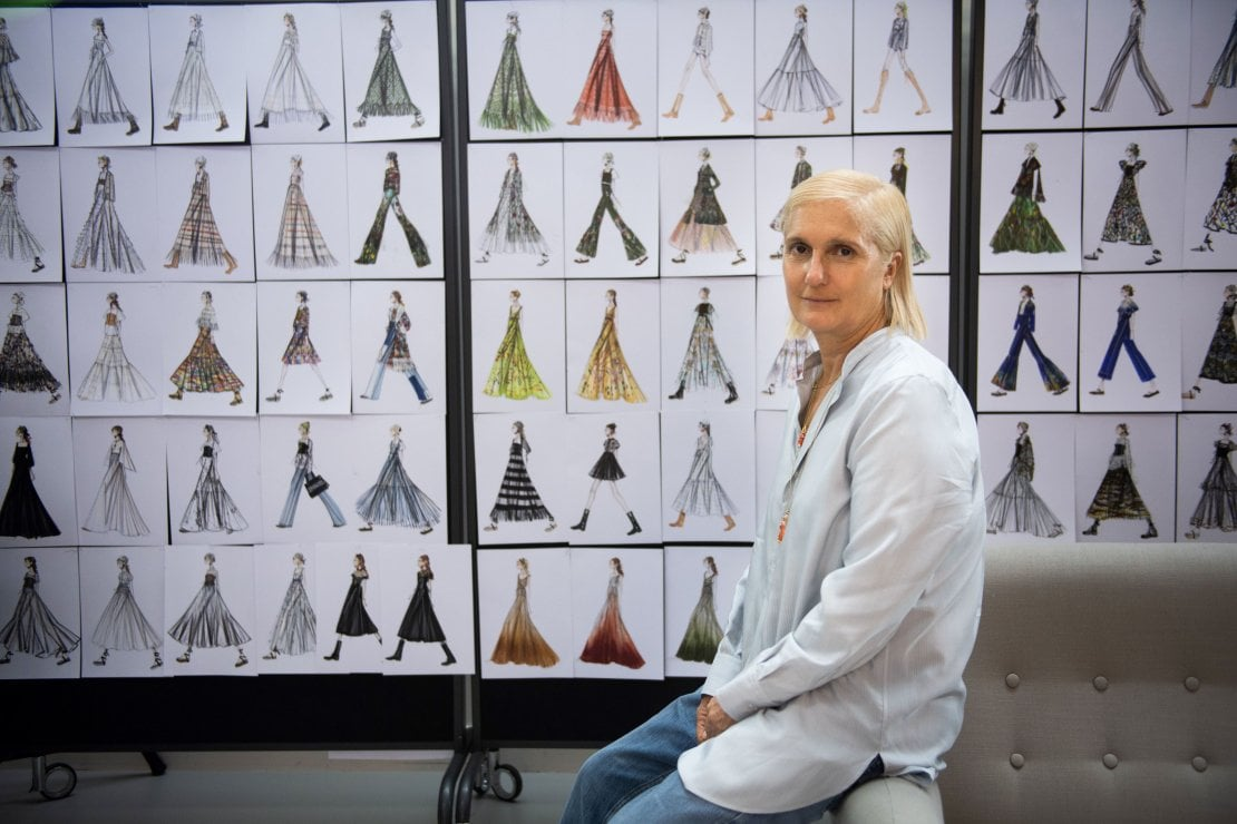 Maria Grazia Chiuri finanzia cinque borse di studio per un nuovo Master all'Università Iuav di Venezia