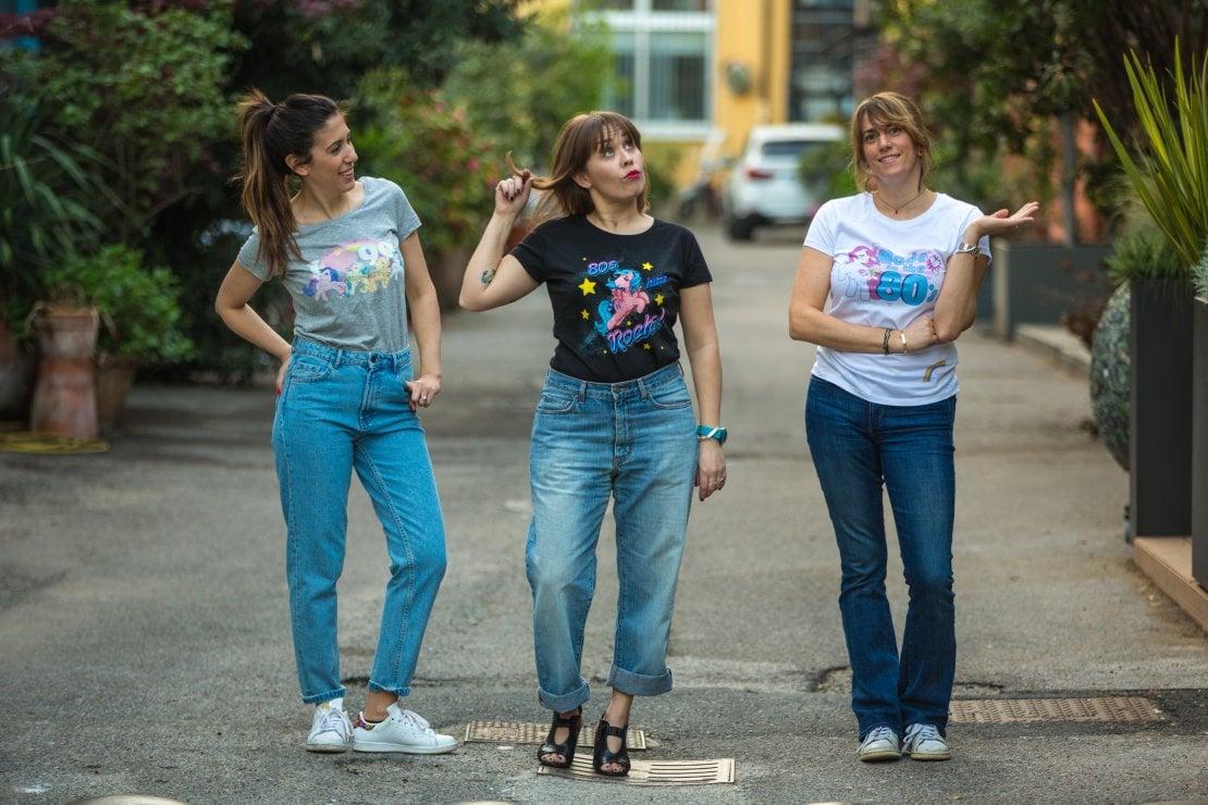 Le tre autrici del progetto I Trentenni
