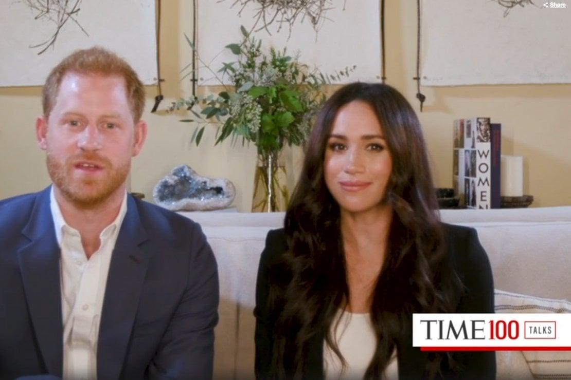 Una scena della puntata Time100Talks