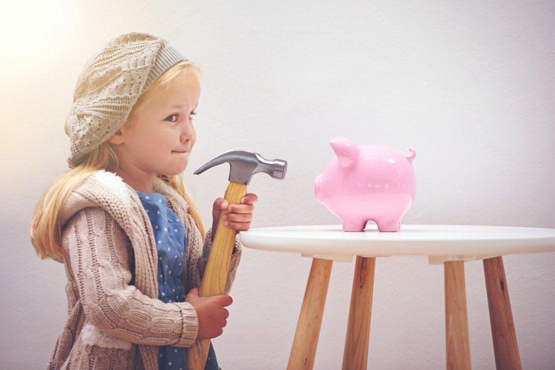 Paghetta e risparmio: come insegnare il valore dei soldi ai bambini