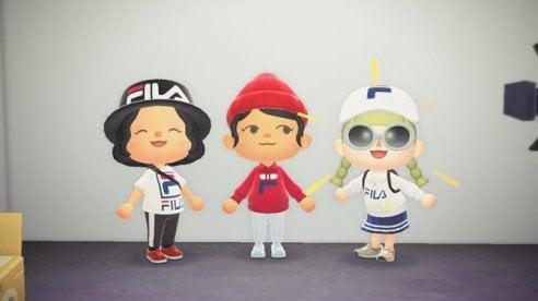 Fila veste gli avatar di Animal Crossing: la mini capsule collection con Nook Street Market