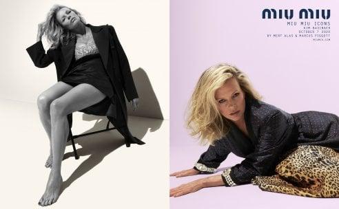 Kim Basinger a 66 anni è una delle donne ''icona'' della nuova campagna Miu Miu