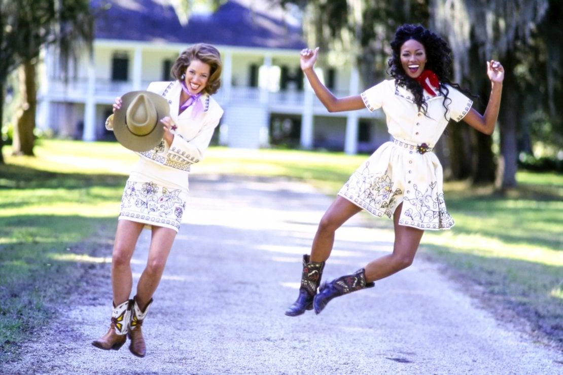 Naomi Campbell e Christy Turlington