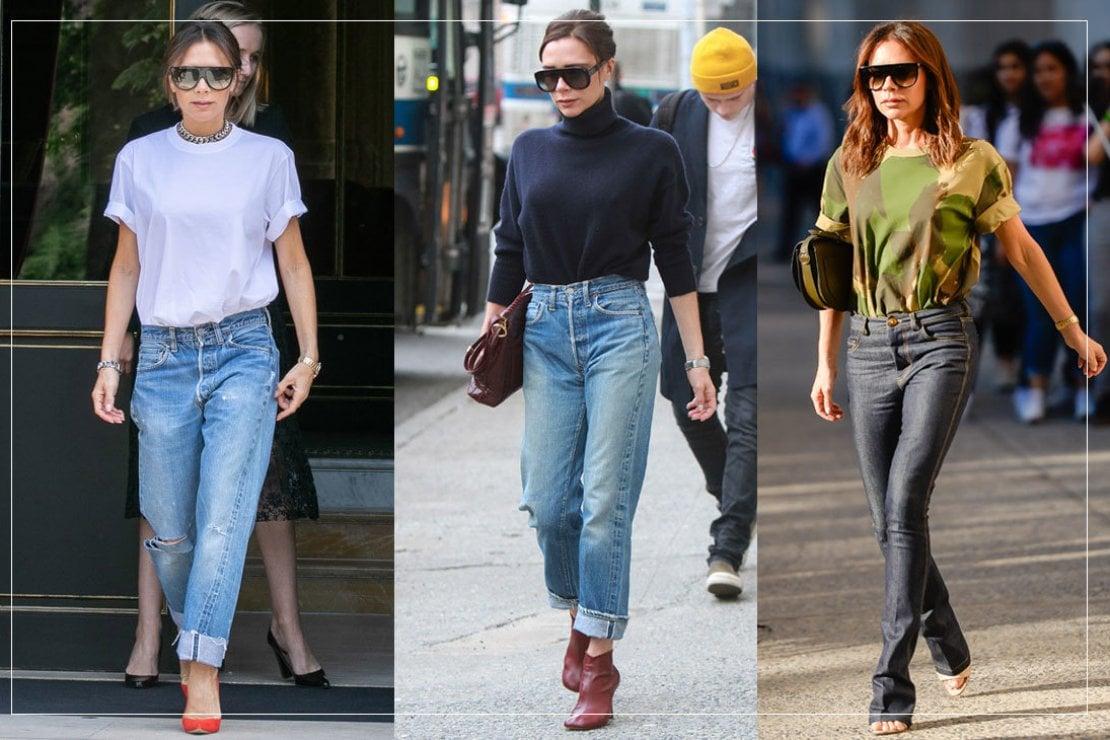 Ruba i segreti di stile a Victoria Beckham: il casual outfit