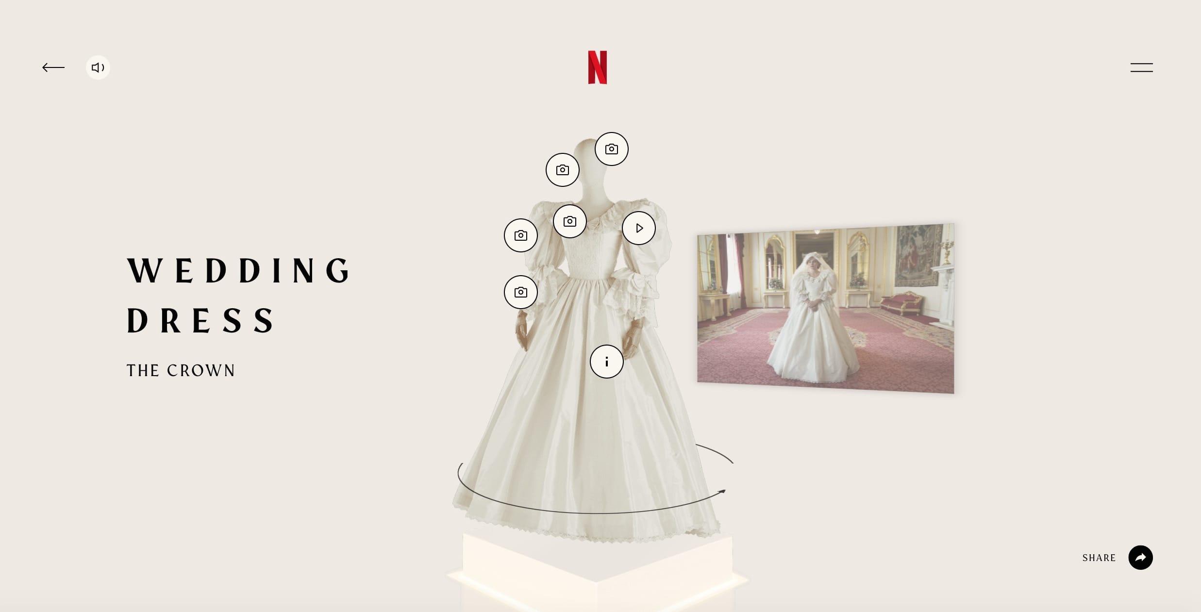 ''The Crown'' 4: la mostra dei costumi di scena e i segreti del guardaroba di Lady D