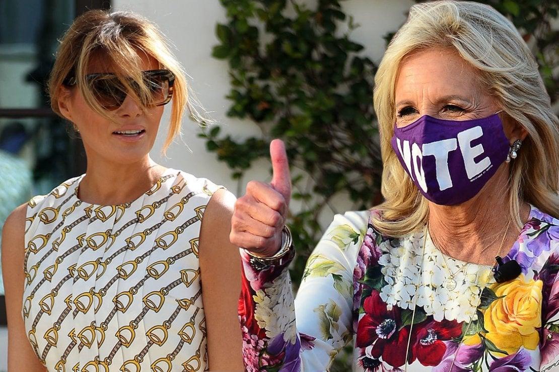 Melania Trump VS Jill Biden: il confronto si gioca sul power dressing