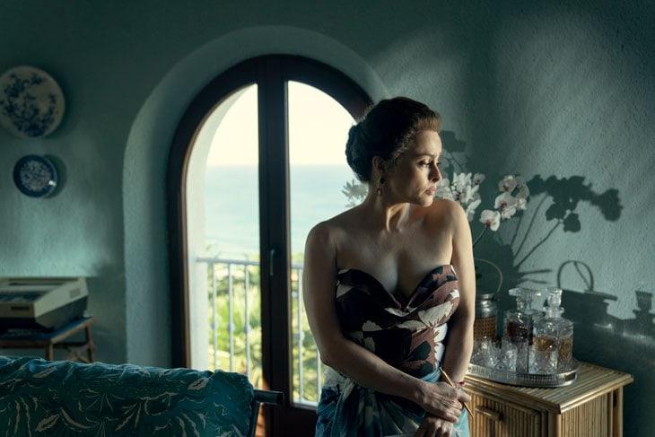 The Crown S4. Helena Bonham Carter interpreta ancora la principessa Margaret