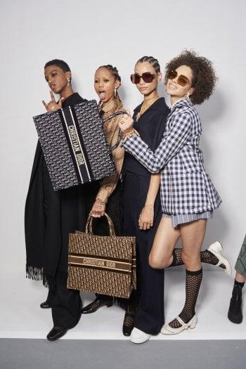 Shopper Dior con logo