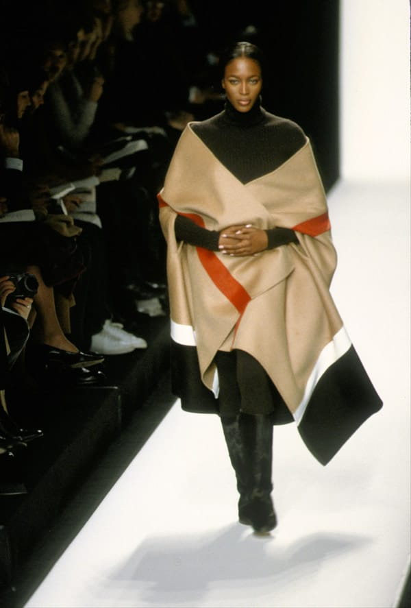 Naomi Campbell nel1999 in passerella per Michael Kors