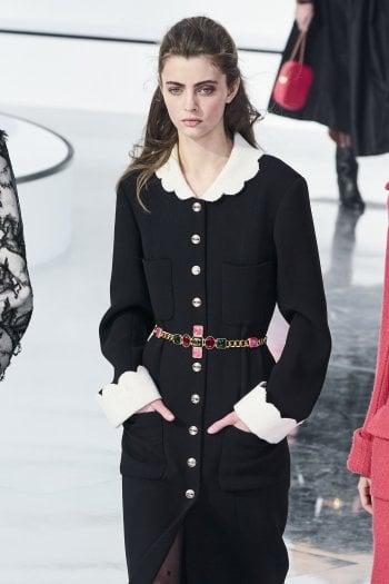 Il cappotto con collo alla Claudine di Chanel