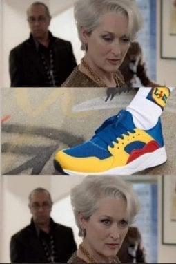 Scarpe Lidl: i meme più divertenti sulla Lidl Fan Collection