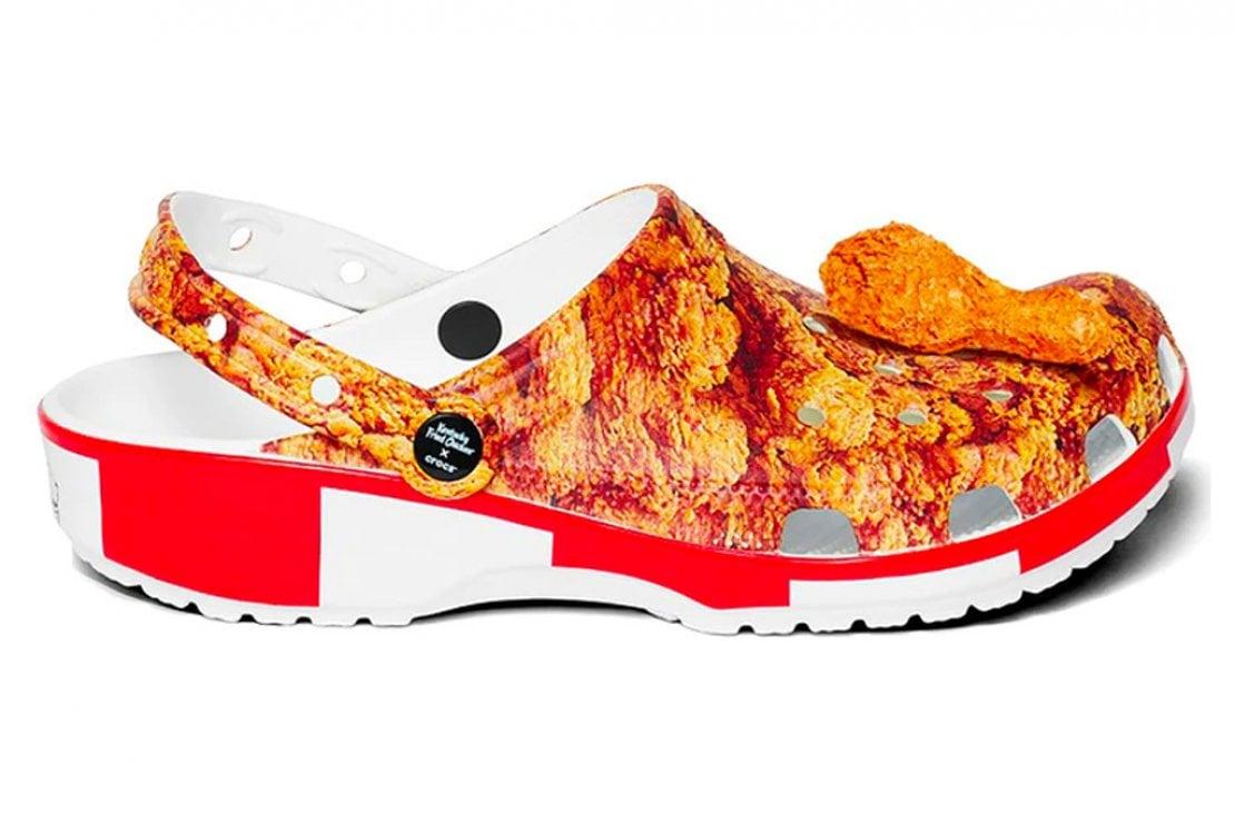 I Crocs prodotti in edizione limitata per KFC