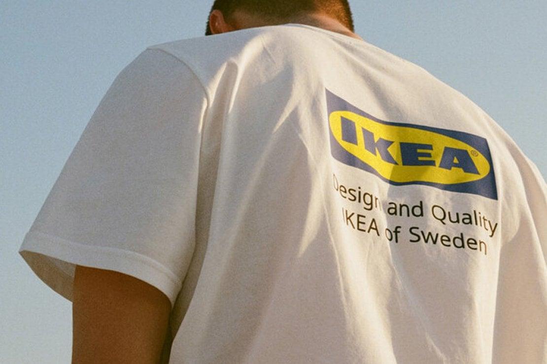 Una delle t-shirt della collezione di abbigliamento Ikea lanciata la scorsa estate in Giappone