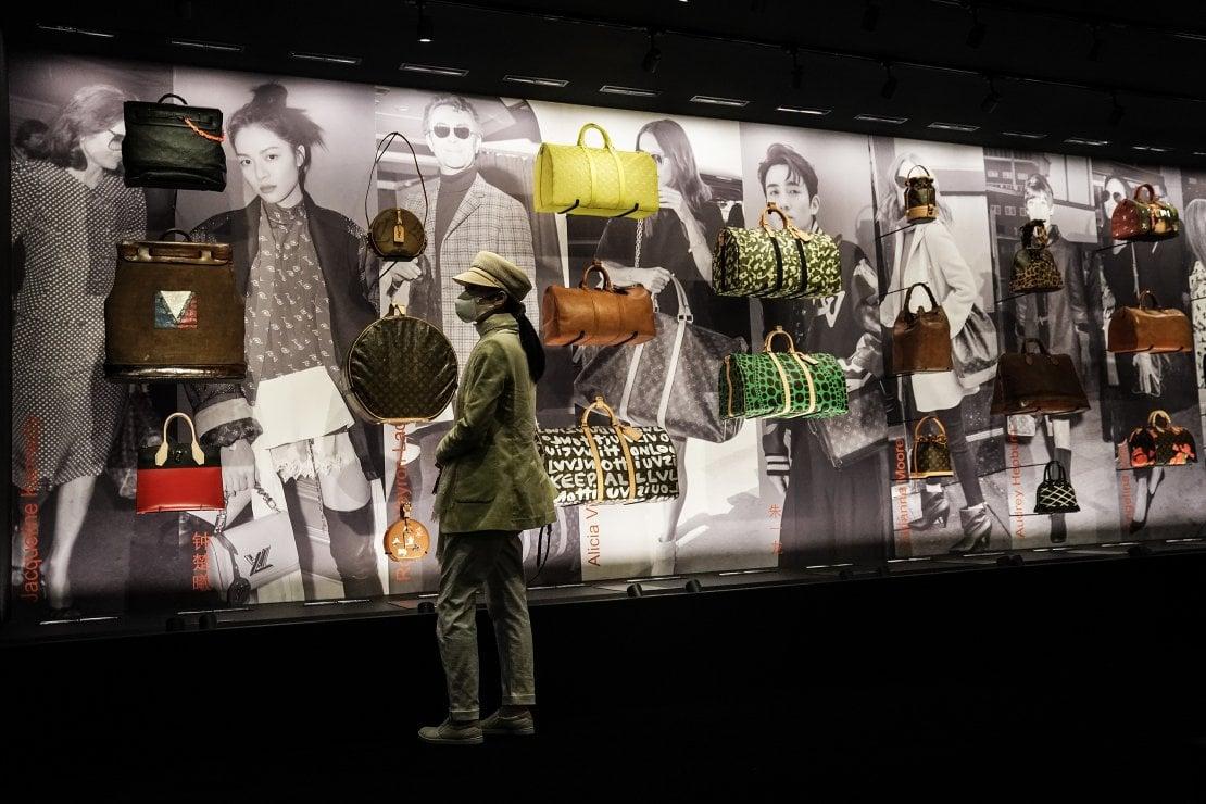 La mostra di Louis Vuitton a Wuhan