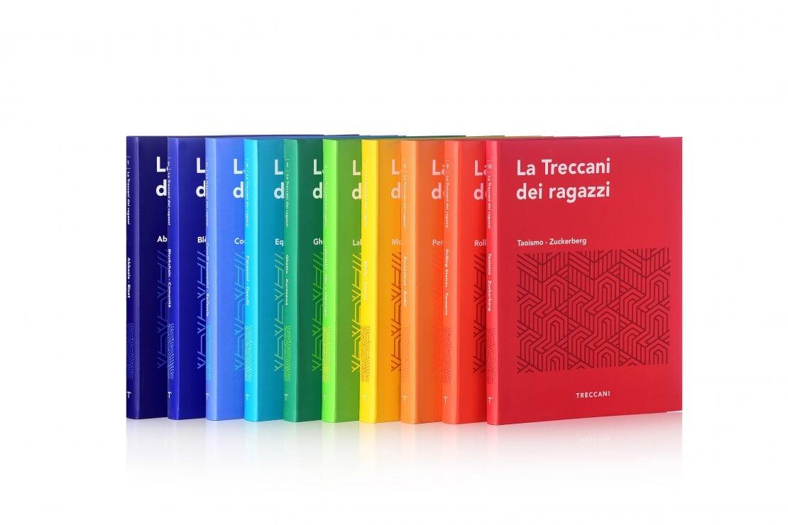 10 volumi di circa 390 pagine ciascuno per circa 2500 voci e 6000 immagini