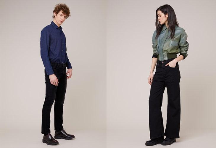Jeans Cedar Narrow e Tulip Wide Leg, Par.co, 99€