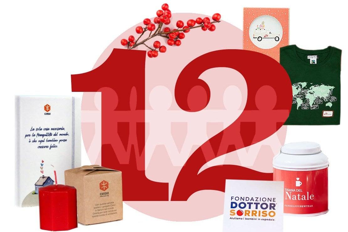 Il Calendario dell'Avvento di D.it: a Natale scegli un regalo solidale, 5 idee sotto i 20 euro