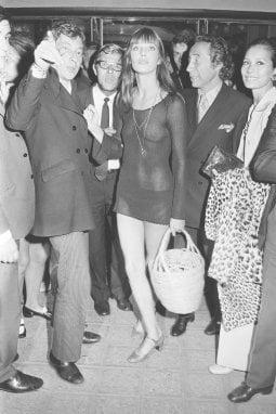 Parigi, 1969. Serge Gainsourg, Jane Birkin e Pierre Grimblat