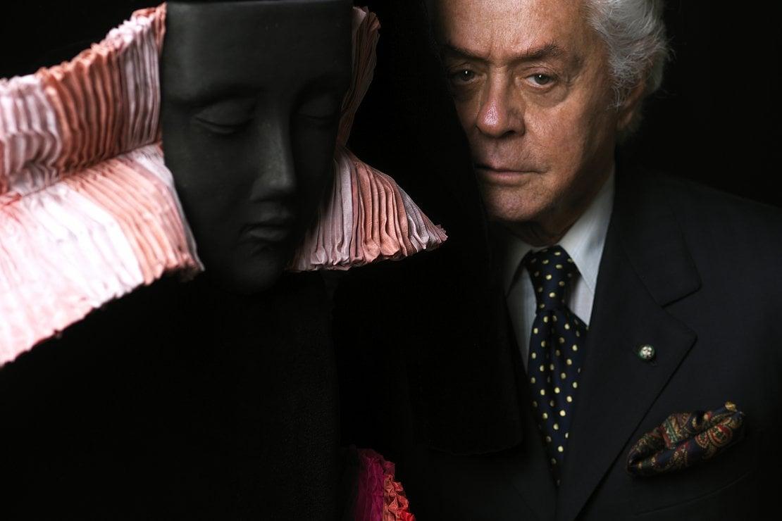 Roberto Capucci ritratto da Fiorenzo Niccoli