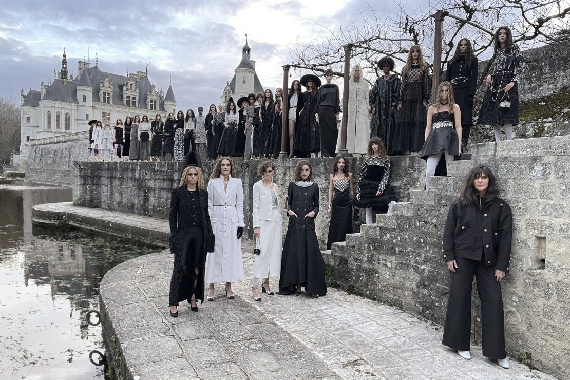 Chanel, una sfilata nel castello delle Dame