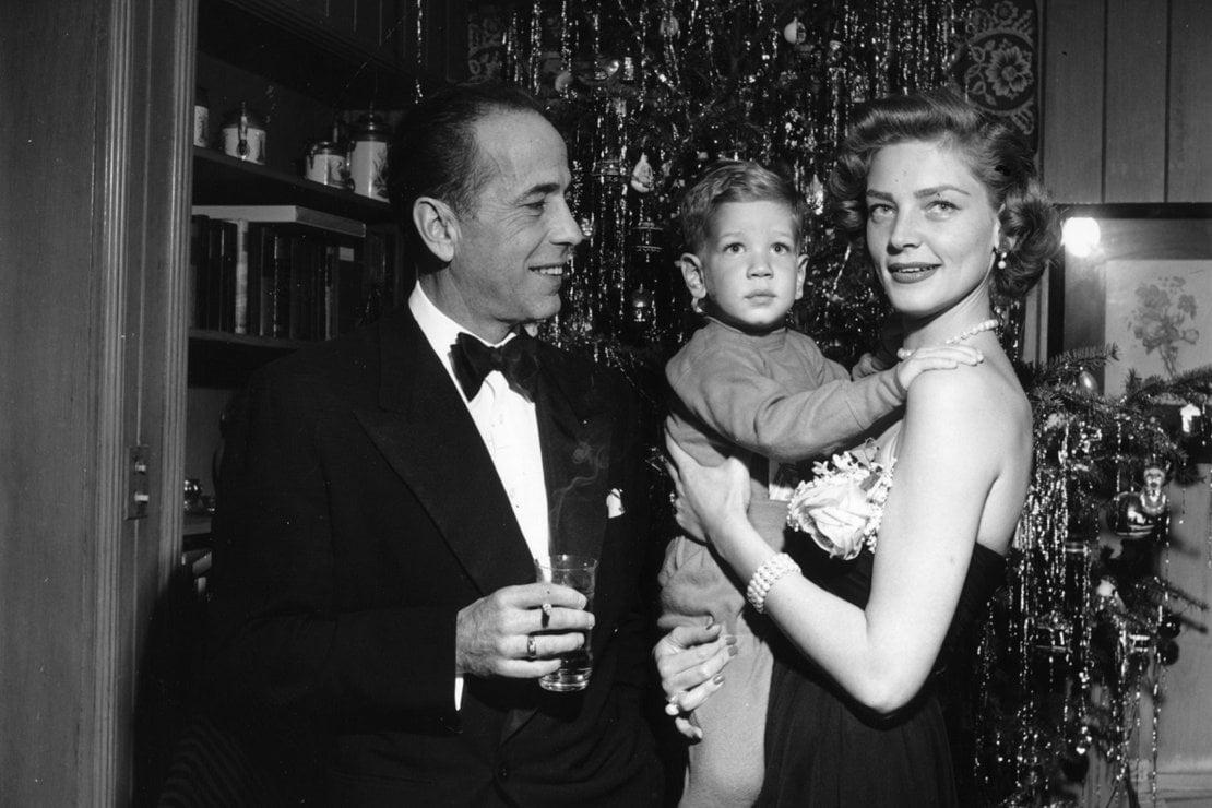 Humphrey Bogart, Lauren Bacall e il figlio Stephen
