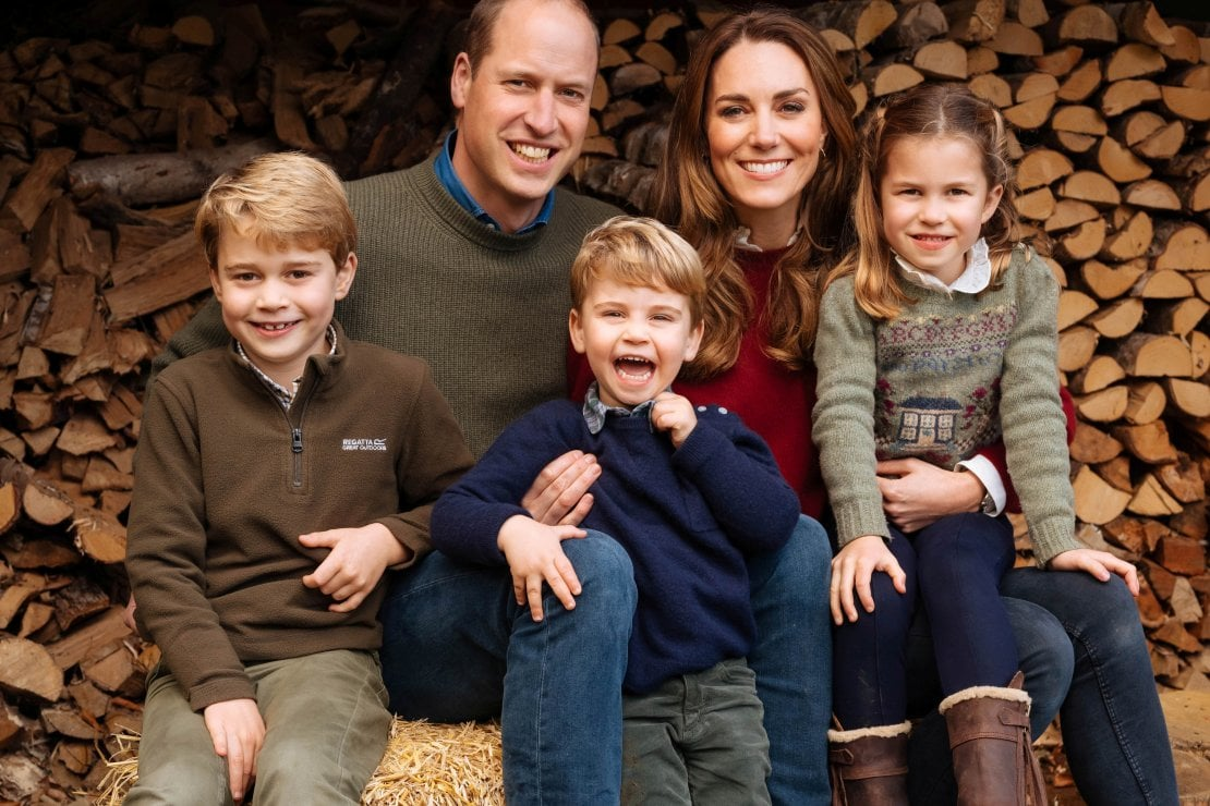 The Duke and Duchess of Cambridge/Kensington Palace/Matt Porteous/via REUTERS