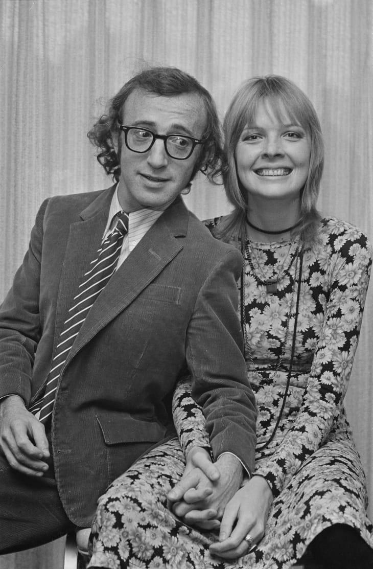 Woody Allen e Diane Keaton nel 1970