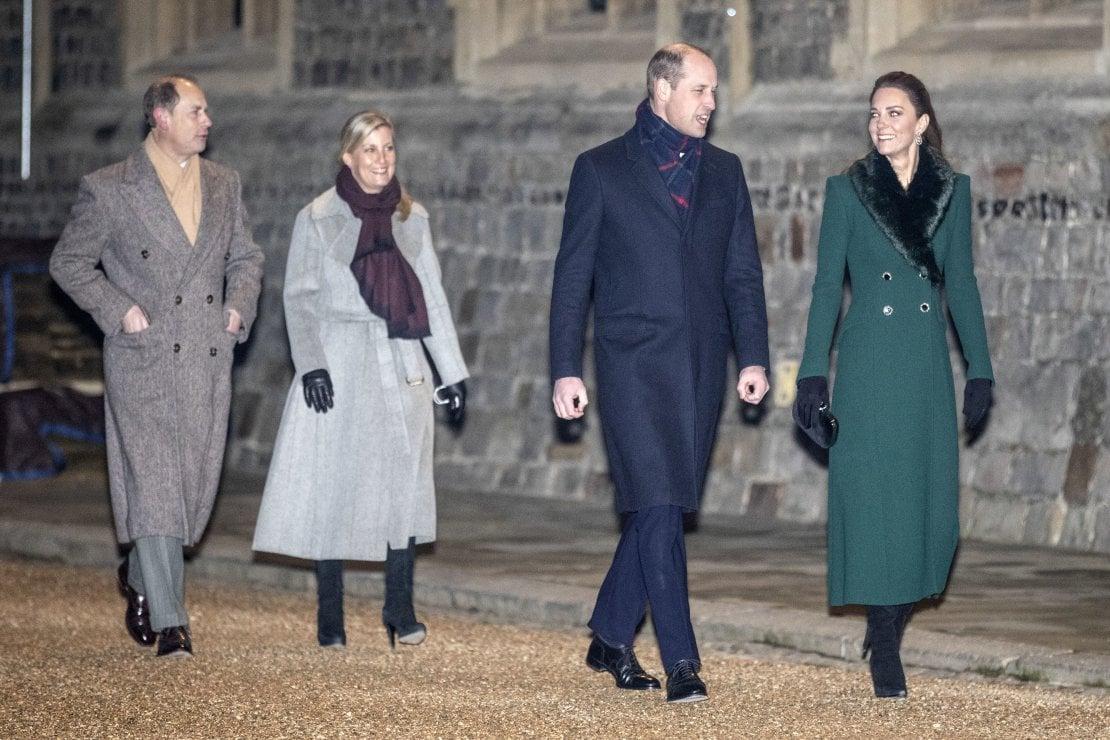 William e Kate assieme al principe Edoardo e la contessa Sophie (Foto Richard Pohle - WPA Pool/Getty Images)
