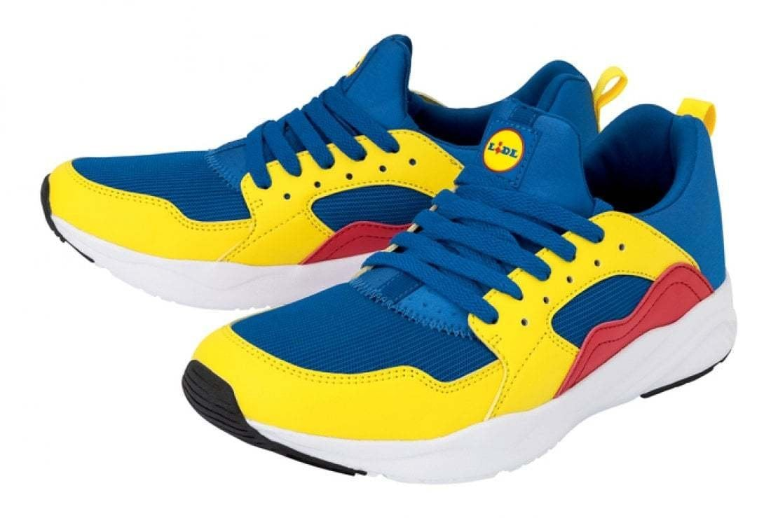 Le sneakers della Lidl, il nuovo, insolito status symbol dell'anno