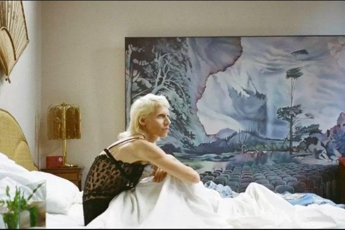 Un frame della serie a puntate di Gucci diretta da Gus Van Sant