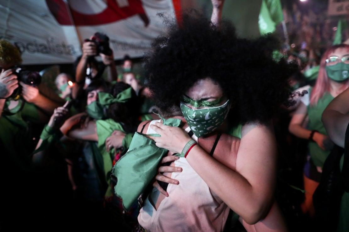 In Argentina ora l'aborto è legale