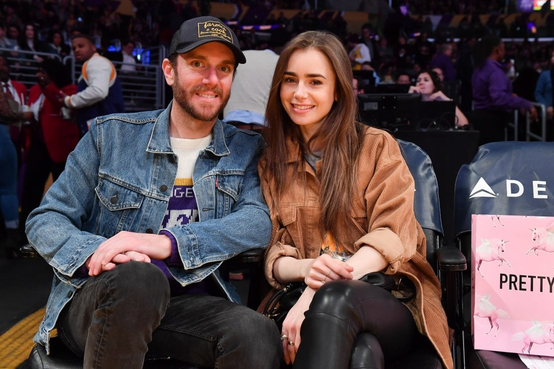 Lily Collins e Charlie McDowell
