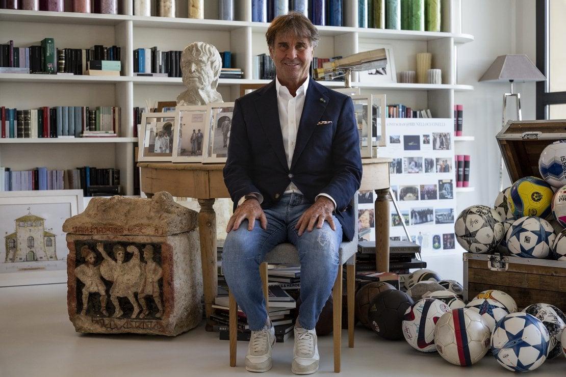 Brunello Cucinelli: ''Teniamo duro, le cose cambieranno in meglio. Ma attenzione: non abbiamo più tempo né voglia di dare retta alla superficialità''