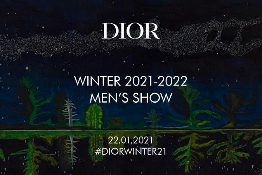 Dior Homme: la sfilata live!