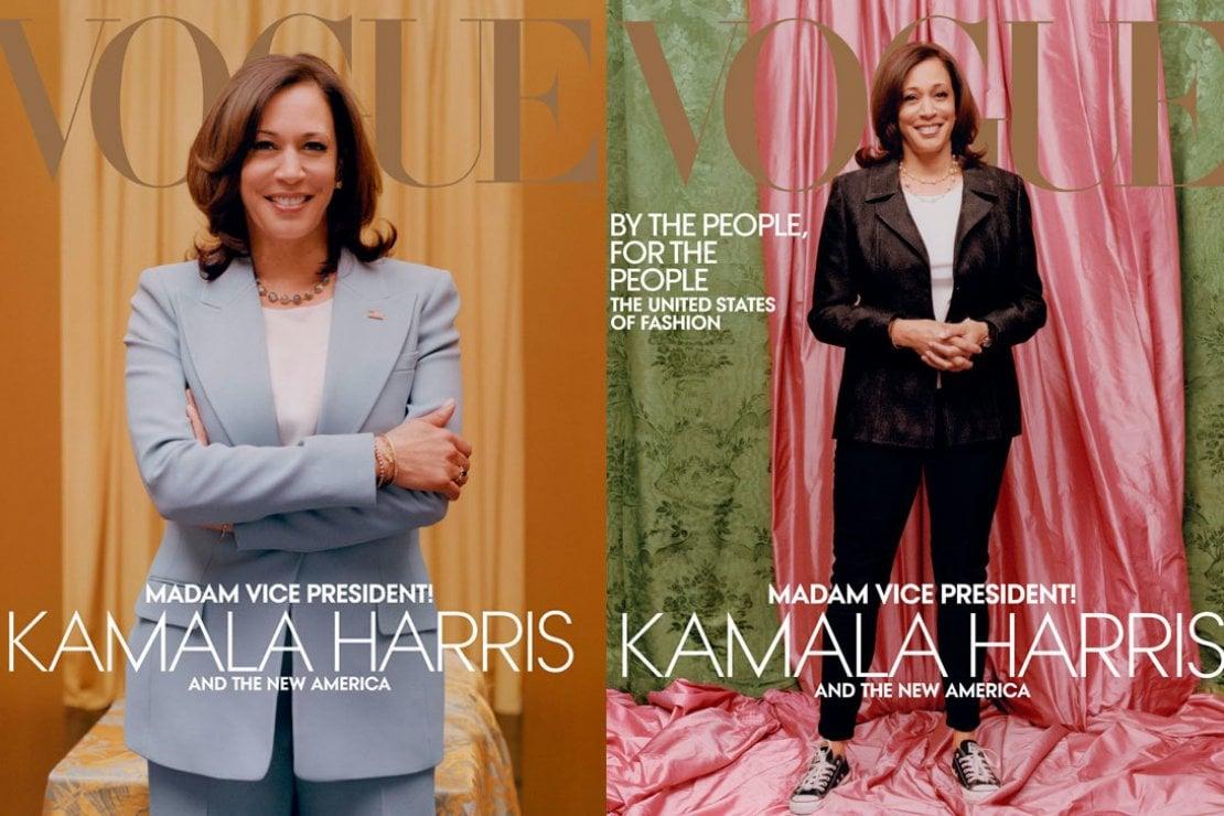 Vogue America: verrà sostituita la copertina della polemica con Kamala Harris ''troppo informale''