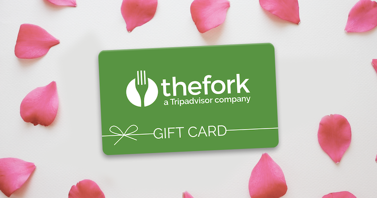 The Fork ha creato una selezione di ristoranti romantici nei quali sarà possibile spendere la carta regalo, da acquistare sulla pagina dedicata