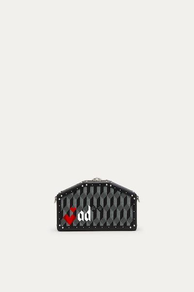 Pochette mini personalizzabile con nome o iniziali nella edizione