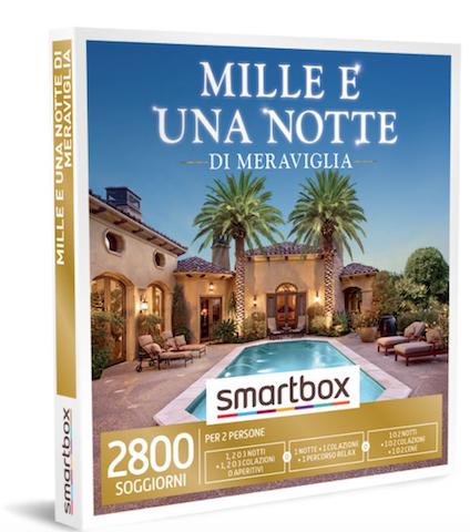 Cofanetto regalo Mille e una notte, Smartbox