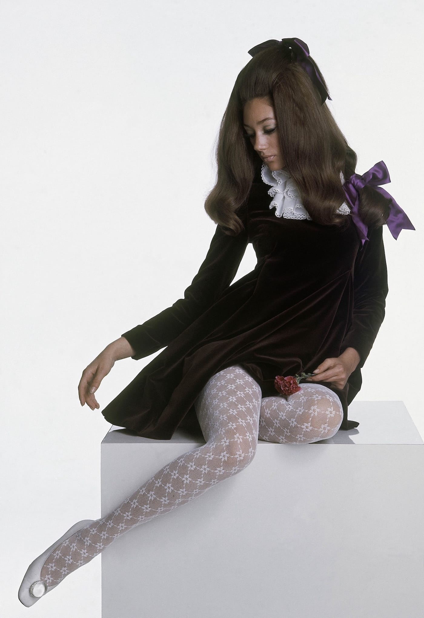 Marisa Berenson per Vogue, 1967 (GettyImages)