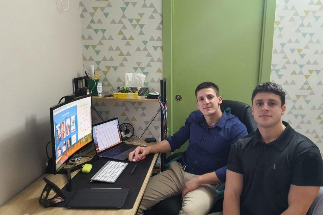 I fratelli Giuseppe e Pietrosilvio Cipolla, autori del progetto DSA Study Maps