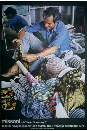 Un manifesto pubblicitario del 1975