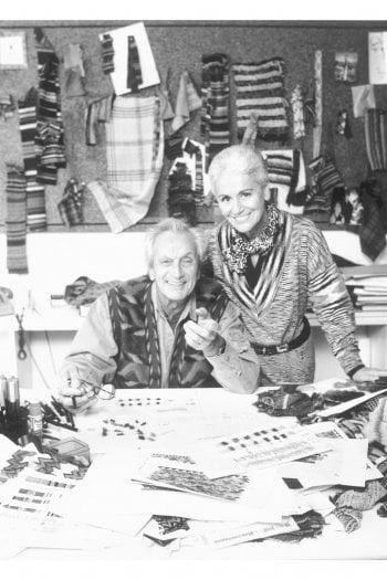 Ottavio e Rosita ritratti nei loro uffici nella sede di Sumirago, in provincia di Varese