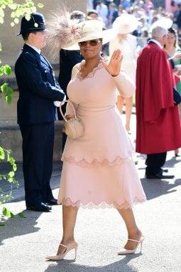 Oprah al matrimonio dei duchi di Sussex