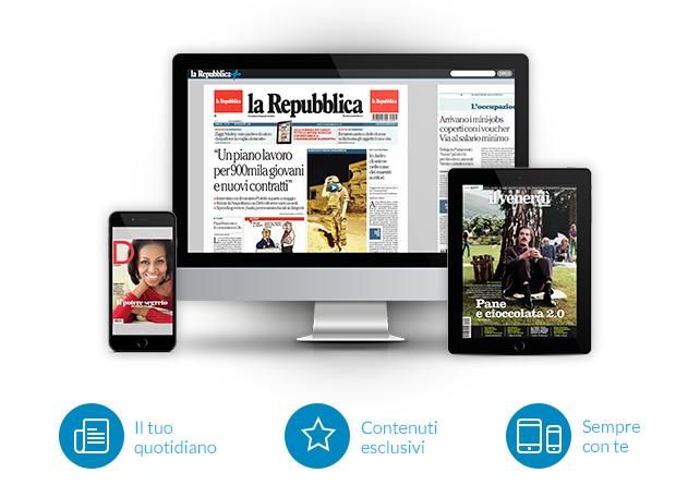 Scopri la Repubblica+