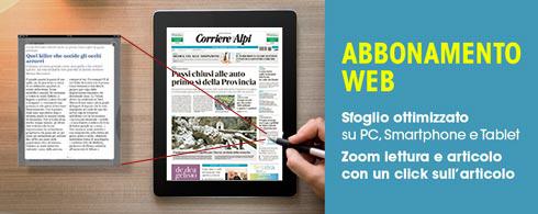 ABBONAMENTO ANNUALE WEB