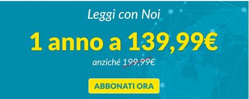 1 anno a soli 139,99€