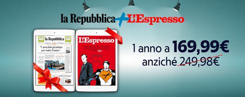 R+ con L'Espresso