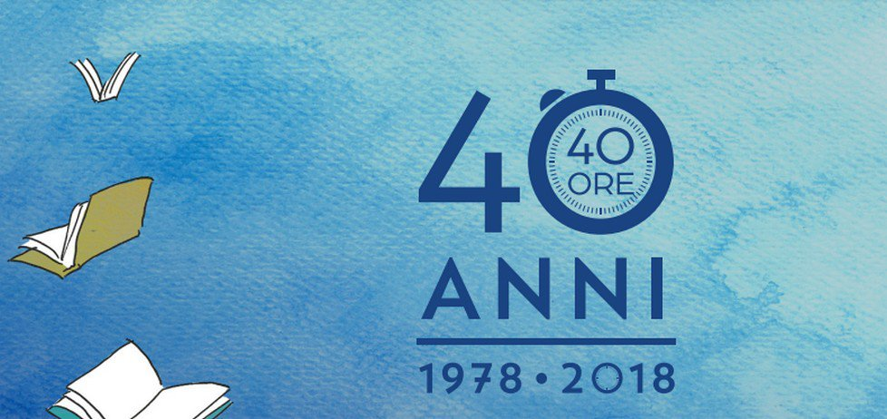 La libreria internazionale il libro festeggia i 40 anni di attività con 40 ore di eventi